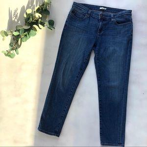 Eileen Fisher straight leg organic cotton jean 10p